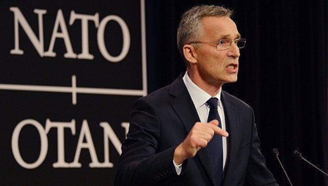 Столтенберг: НАТО будет следить за учениями России, Белоруссии и Китая близ литовской границы