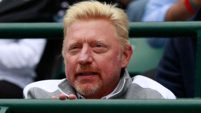 Бывшая первая ракетка мира Борис Беккер объявлен банкротом