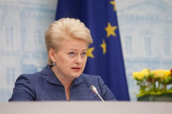 Д.Грибаускайте: Санкции против России должны быть усилены и увеличены