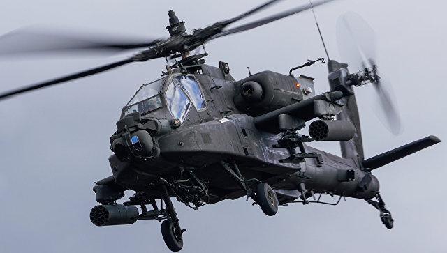 Вертолет ВВС США впервые сбил БПЛА с помощью лазера