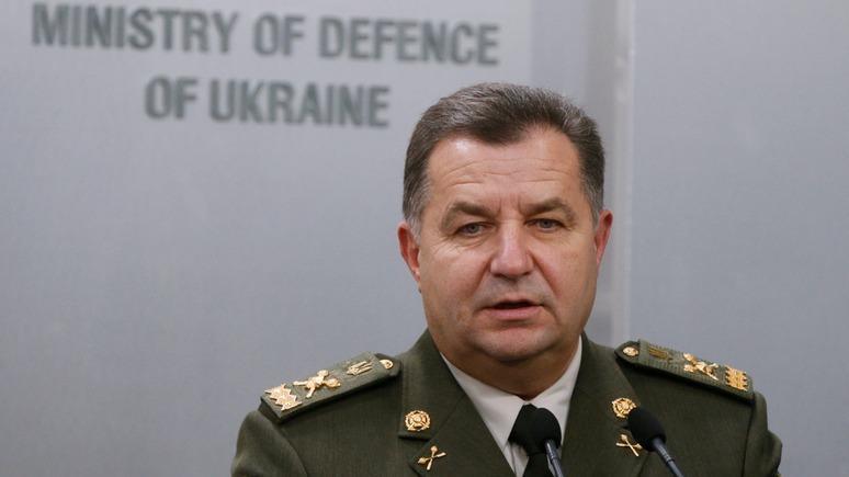 Полторак обещает «адекватную реакцию» на русские учения уграницы