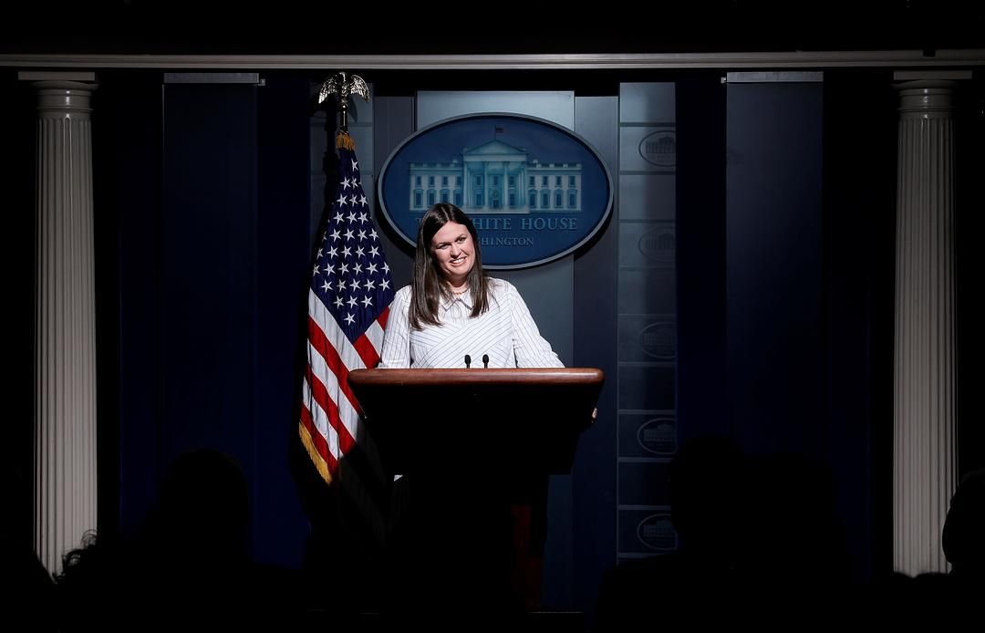 Новым пресс-секретарем Белого дома назначена Сара Сандерс