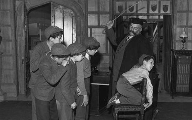 the connection between corporal punishment in