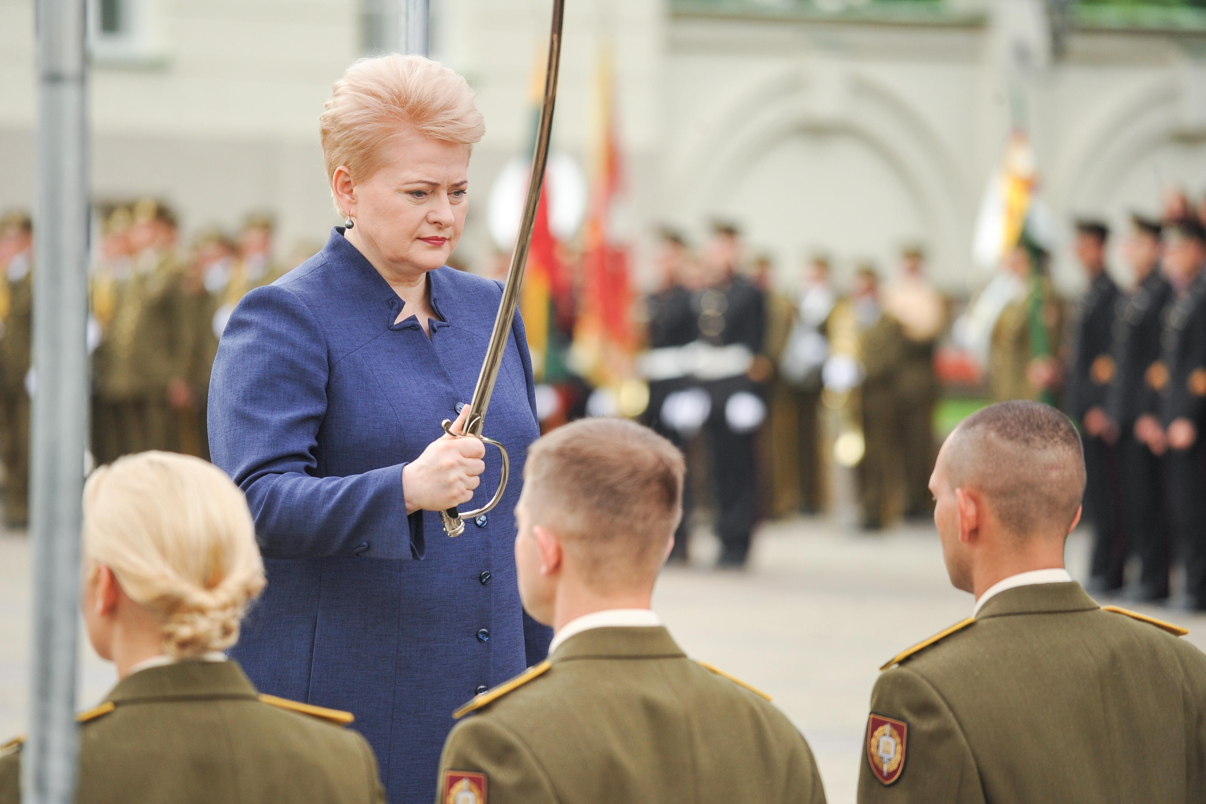 Литовской армии нужно больше выпускников Военной академии