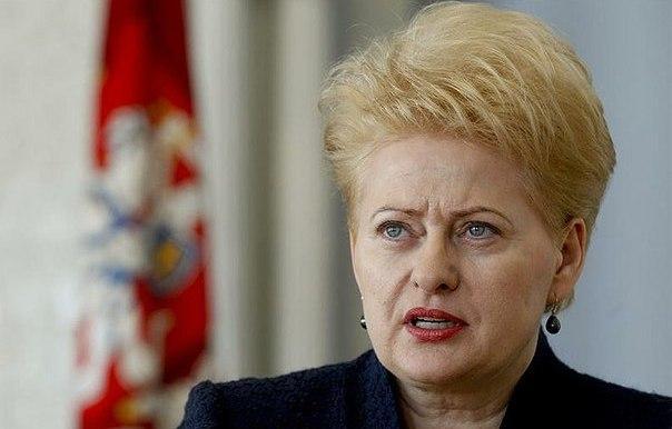 Грибаускайте на встрече с вице-президентом США в Эстонии поддержала новый санкции в отношении РФ