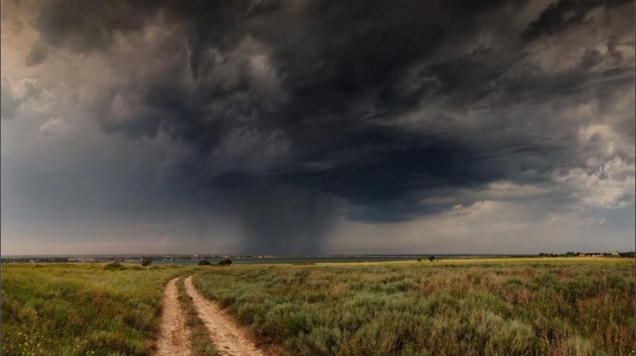 В среду в Литве прогнозируется сильный шквал, предупреждают метеорологи
