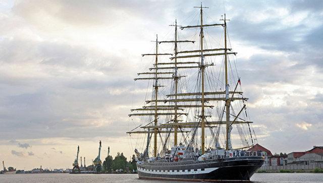 Финляндия не позволила паруснику «Крузенштерн» посещение Аландских островов