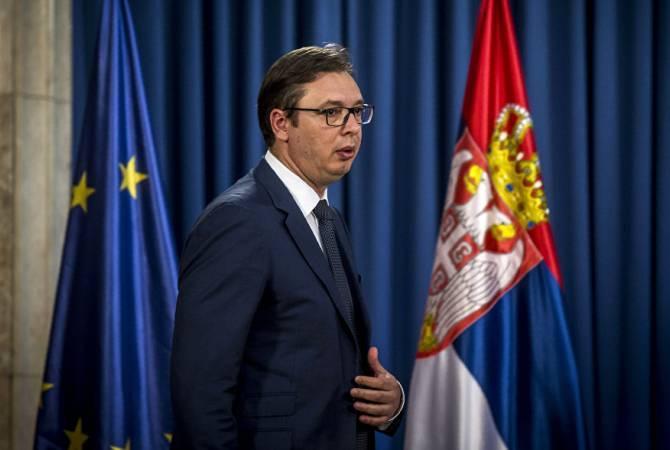 Вучич заявил, что полноправное членство вЕС— приоритет Сербии