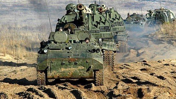 Навидео сучений «Запад-2017» засветился русский реактивный танк Т-80