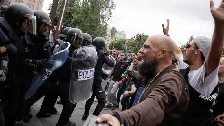 Монарх Испании объявил онезаконности действий каталонцев