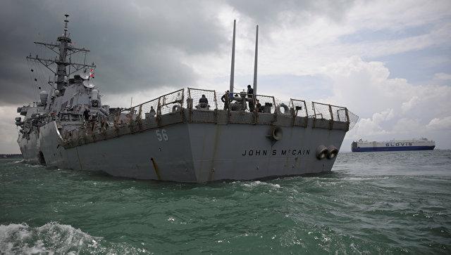 Несущие службу близ КНДР моряки США назвали свое судно плавучей тюрьмой