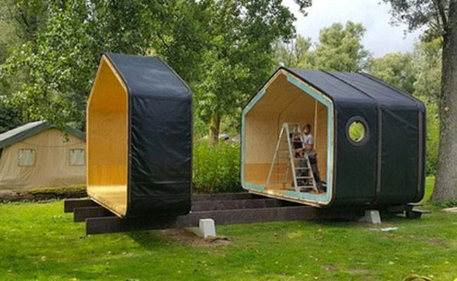 Прослужит 100 лет— голландские дизайнеры построили дом изкартона