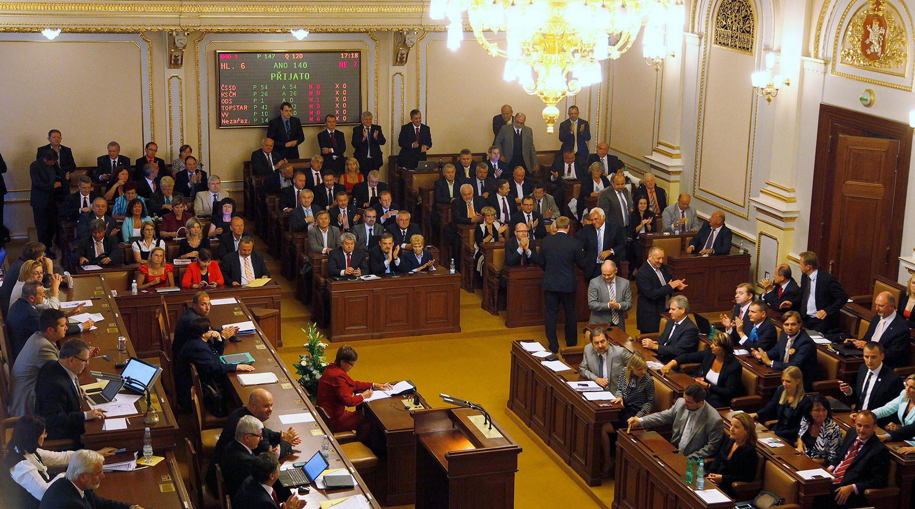 Явка избирателей в 1-ый из 2-х дней чешских парламентских выборов составила 40%
