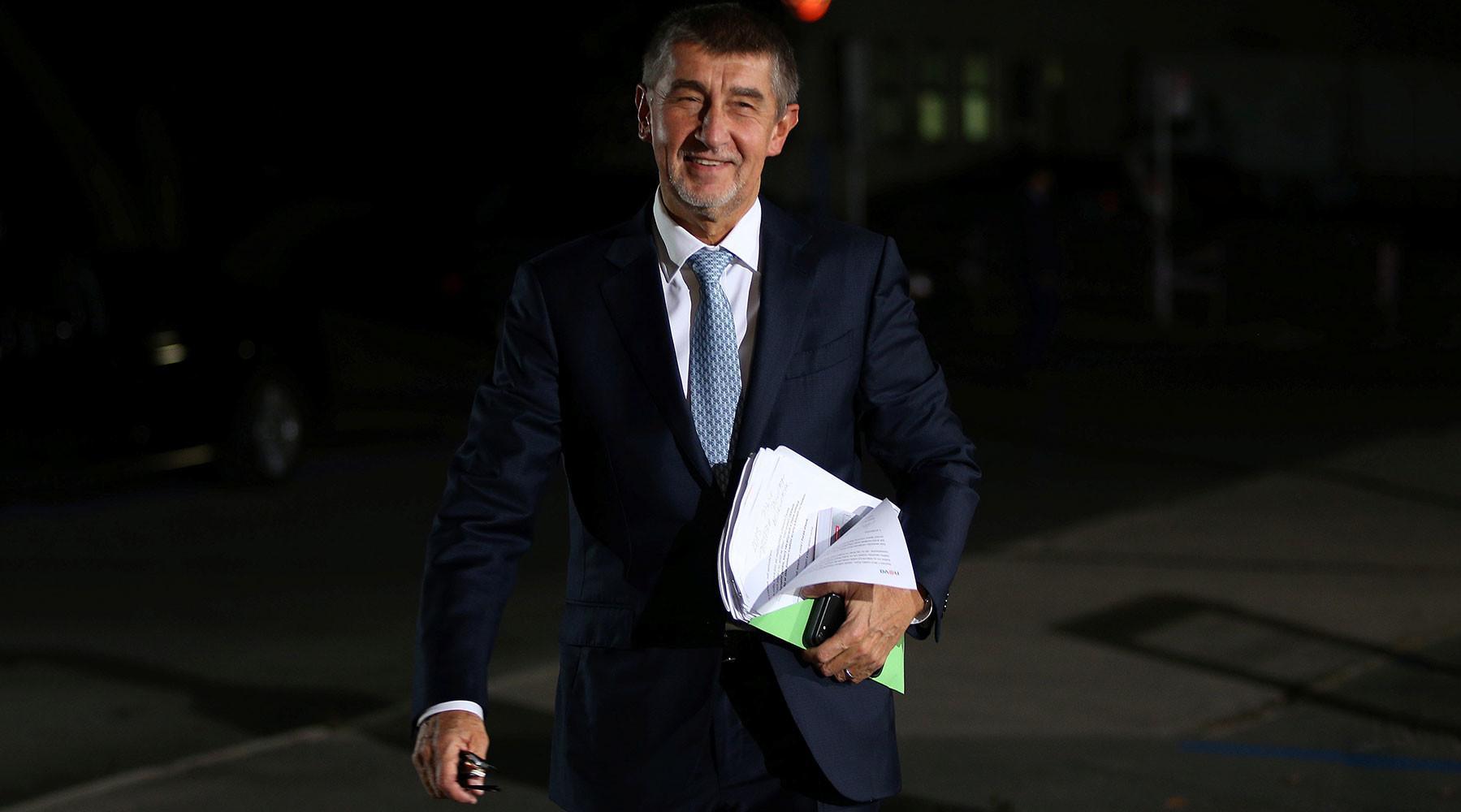 Напарламентских выборах вЧехии победило правое движение АNO