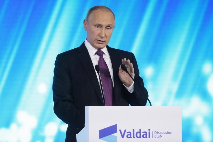 Путин заглянул навечеринку участников фестиваля молодежи истудентов вСочи