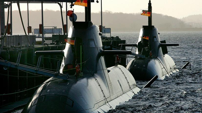 Германия готова подписать сделку опродаже 3 субмарин