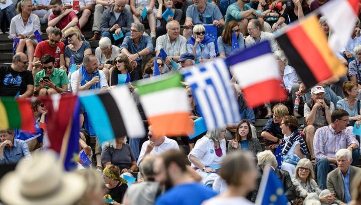 Полураспад Европы