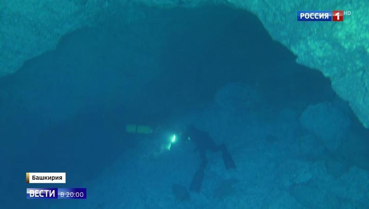 В одной из самых больших подводных пещер открыт новый вид жизни