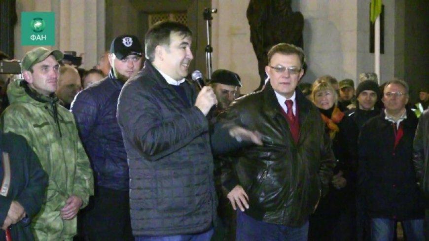 Саакашвили озвучил дату «часа икс» для Украинского государства