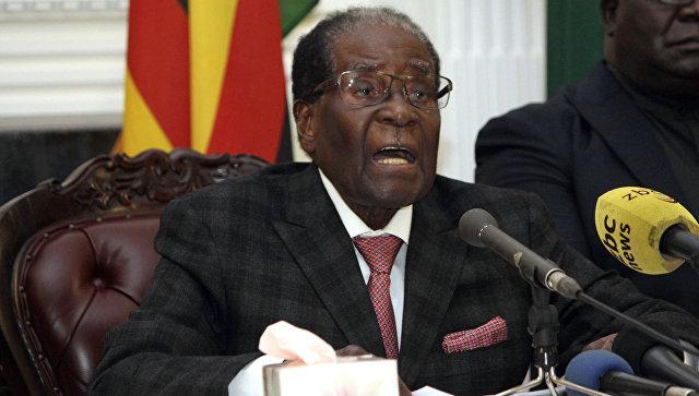 Президент Зимбабве подал в отставку, заявил спикер парламента