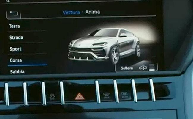 Lamborghini случайно рассекретила внешность суперкроссовера