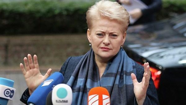 Кремль непустил Лукашенко встолицу ЕС, считает президент Литвы