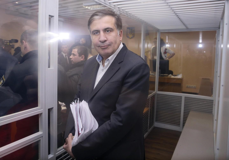 ВКиеве проходит марш сторонников Саакашвили