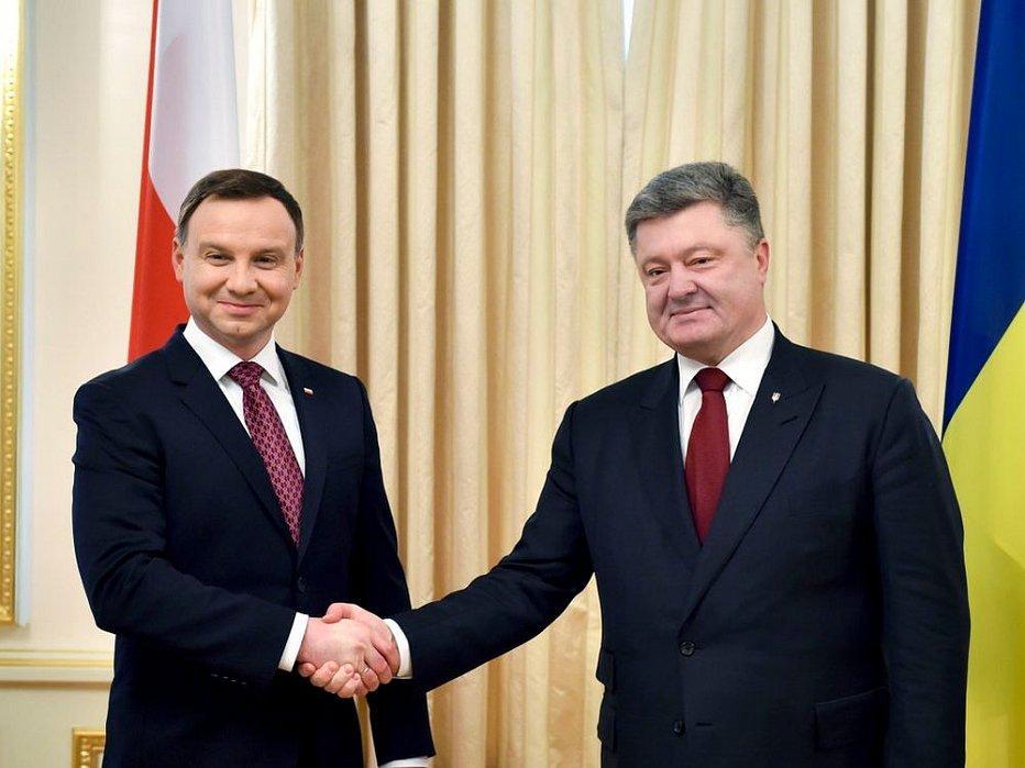 Дуда заявил, что Польша поддержит миротворческую миссию в Донбассе