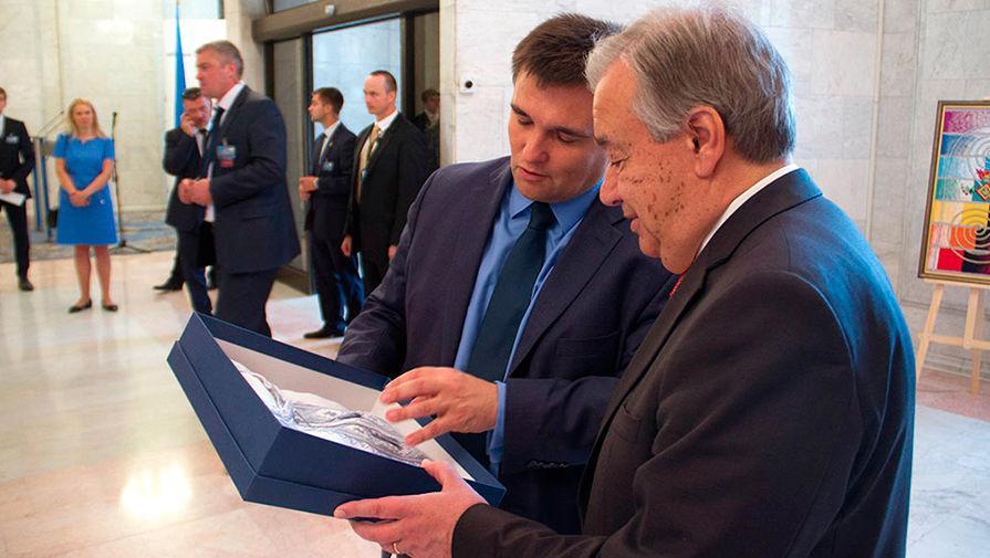 Небензя вступил вспор сКлимкиным на совещании Совбеза ООН поКНДР