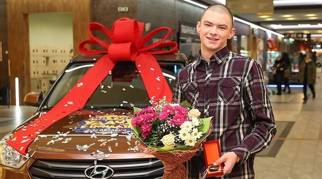 Белорусский парень, находясь в СИЗО, выиграл и получил автомобиль!