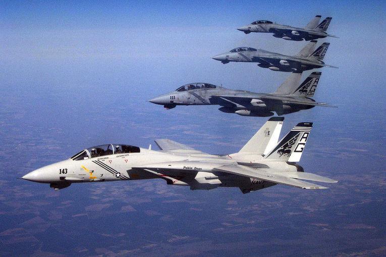 В Эстонию прибыли 12 американских истребителей