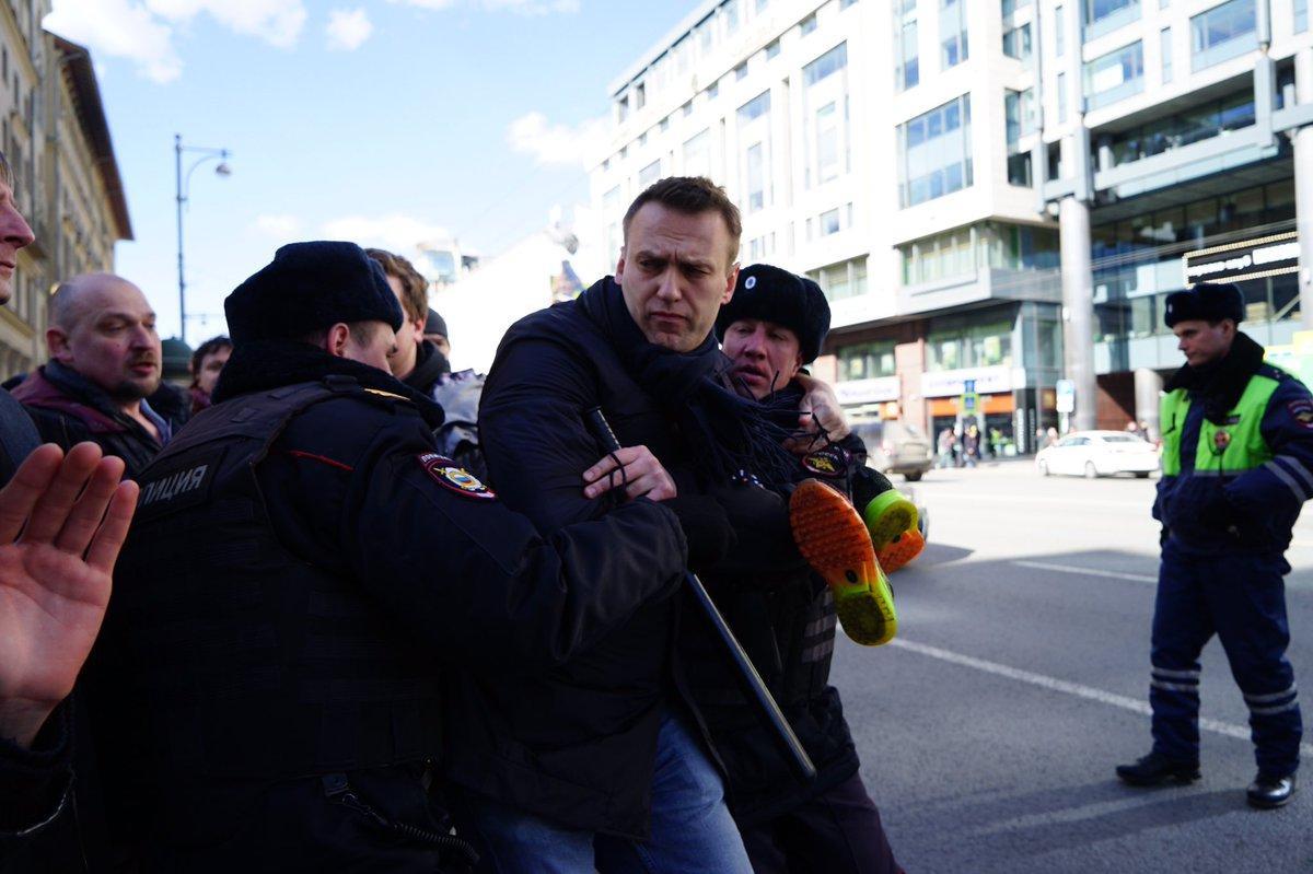 The New York Times: информация о митингах А. Навального в России публиковалась из Литвы