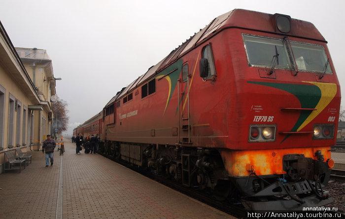 На электрификацию ж/д ветки Вильнюс-Клайпеда – почти 350 млн. евро