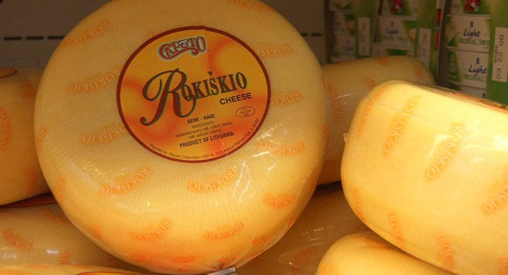 В Крыму сожгли 28 килограммов сыров из Литвы и Германии