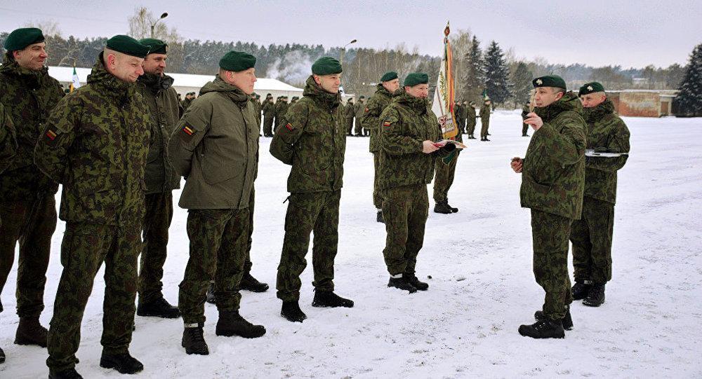 Литовская военная бригада причислена к военной дивизии Германии