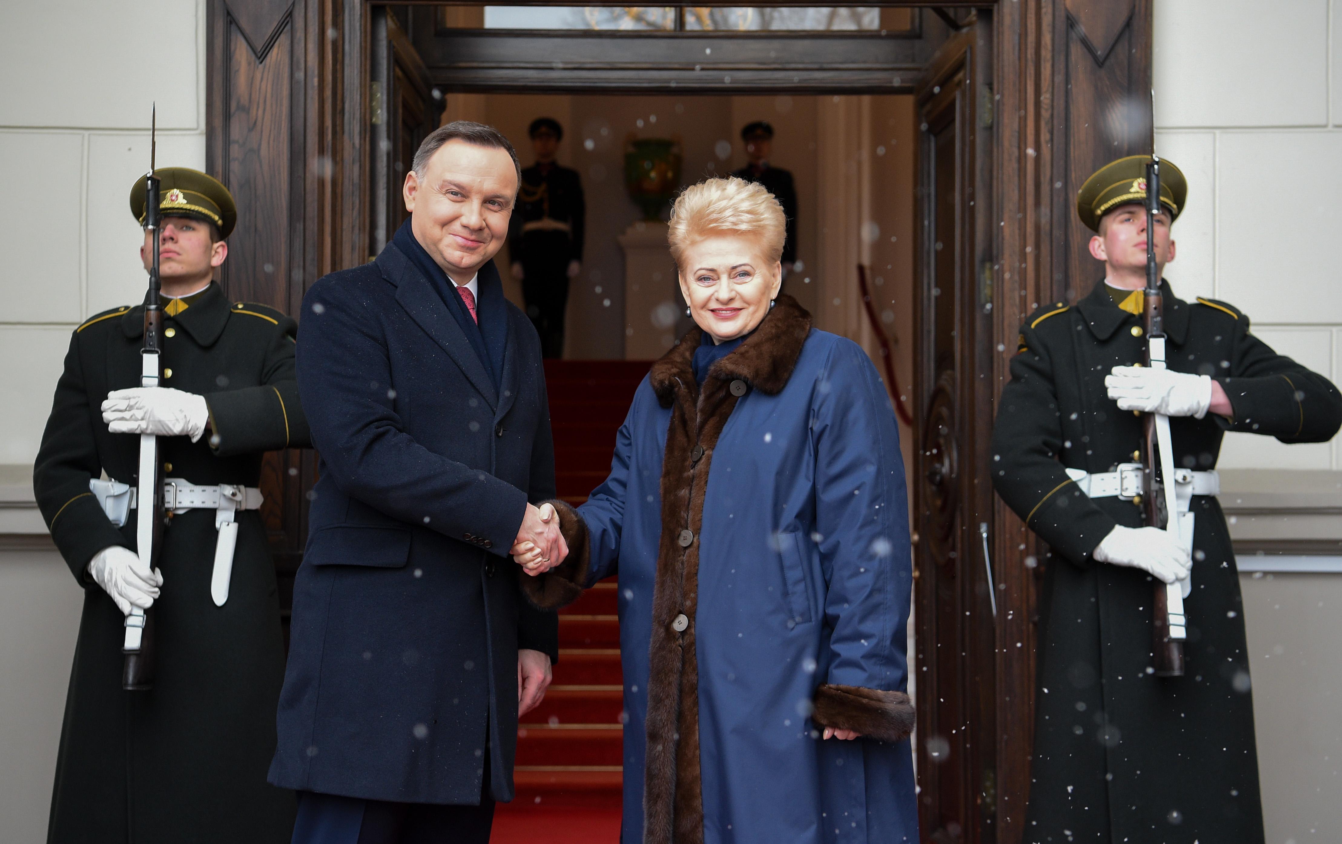 После визита А. Дуды - ожидания перелома в отношениях Литвы и Польши