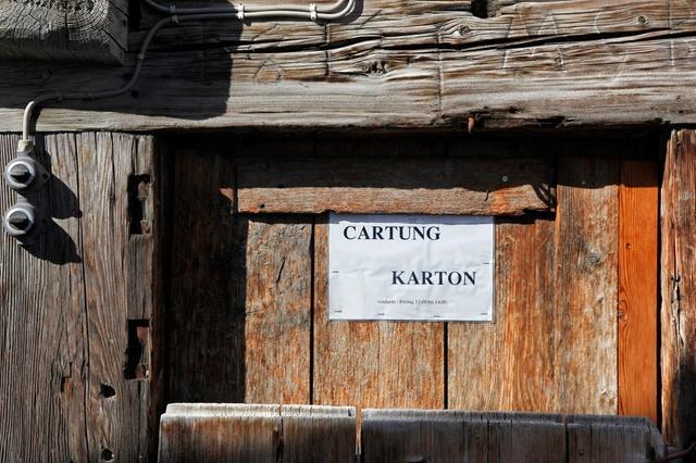 Четвертый национальный язык Швейцарии — ретороманский