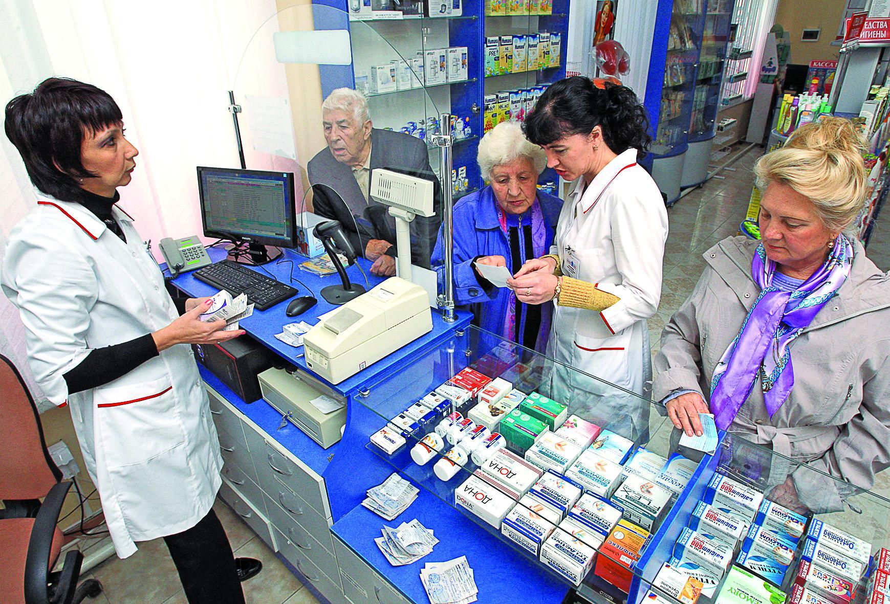 Лекарство  –  в любом магазине