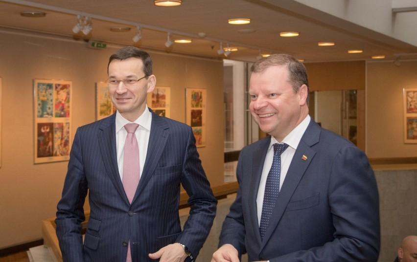 Итоги визита премьера Польши в Литву