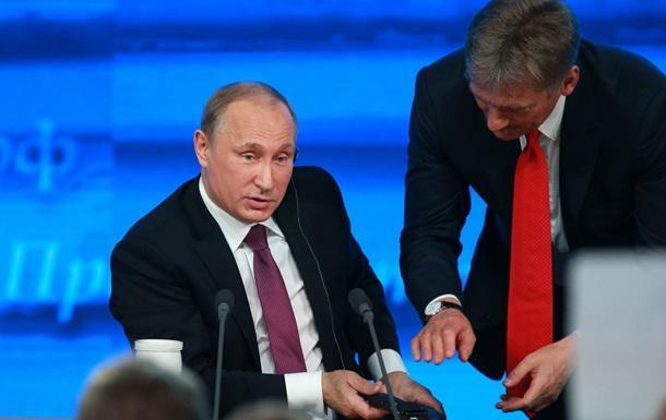 """Путин признал, что его пресс-секретарь иногда несет """"пургу"""""""