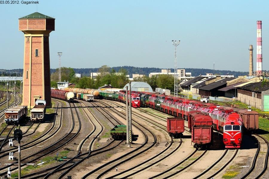 Интермодальный поезд Балтийских стран Amber Train – в мае