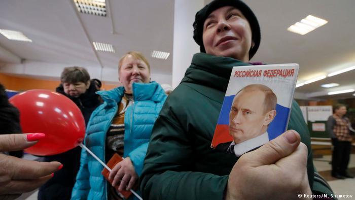 Экзитполы ВЦИОМ: Путин - новый старый президент России