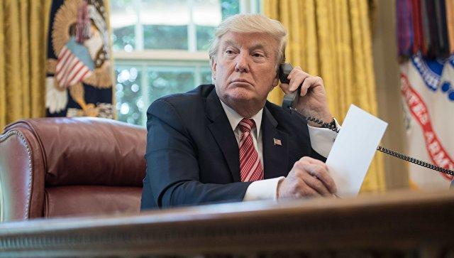 Трамп провел телефонный разговор с Путиным