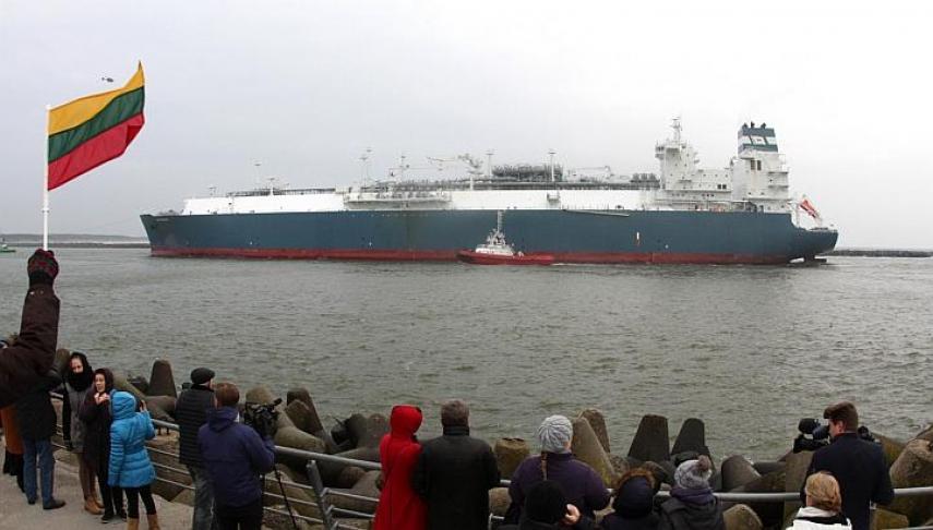 Министр: для выкупа судна СПГ может быть привлечена помощь ЕС (дополнено)