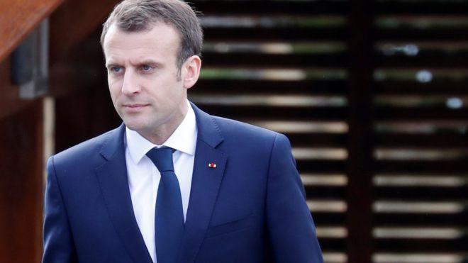 Макрон: УФранции есть подтверждения применения химоружия вСирии