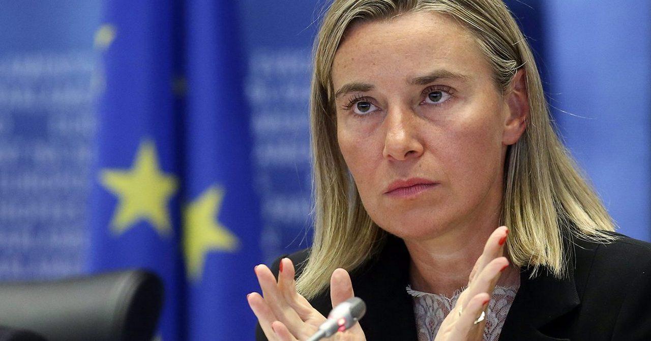 Могерини: ЕС выступает за создание двух государств для решения палестинской проблемы