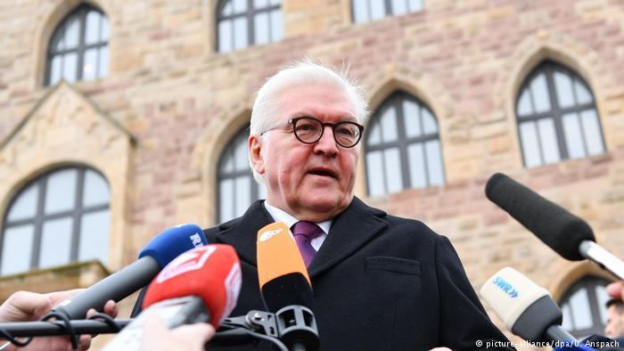 Президент Германии призвал бороться с отчуждением России от стран Запада