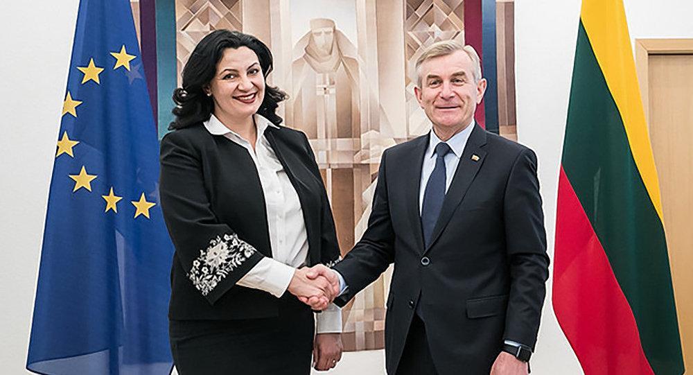 Литва поддержит Украину на пути к евроинтеграции, заявил спикер Сейма