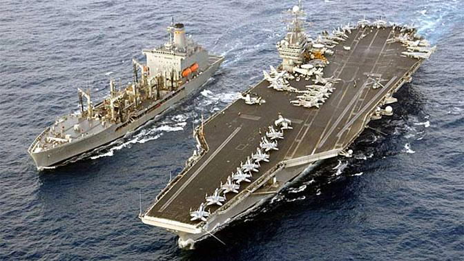 Ударная авианосная группа США может остаться в Средиземном море