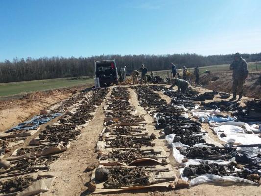 В Латвии обнаружили останки 145 советских солдат